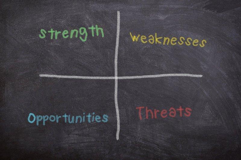 SWOT分析とクロスSWOT分析の違いと使い方について解説